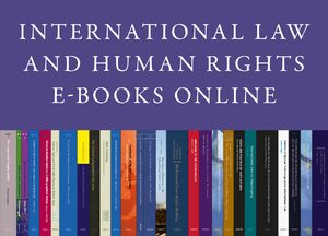 Cover International Law and Human Rights E-Books Online
