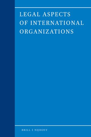 Cover Legal Aspects of International Organizations
