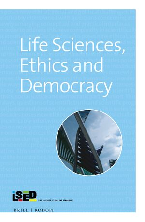 Cover Life Sciences, Ethics and Democracy