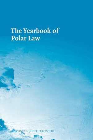 Cover The Yearbook of Polar Law