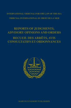 Cover Reports of Judgments, Advisory Opinions and Orders / Recueil des arrêts, avis consultatifs et ordonnances