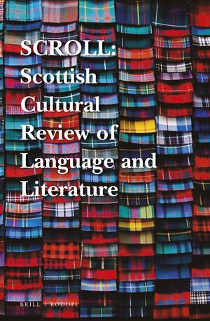 Cover SCROLL: Scottish Cultural Review of Language and Literature