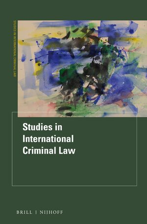 Cover Studies in International Criminal Law