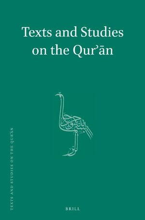 Cover Texts and Studies on the Qurʾān