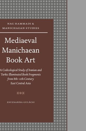 Cover Mediaeval Manichaean Book Art