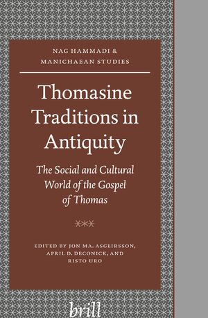 Cover Thomasine Traditions in Antiquity