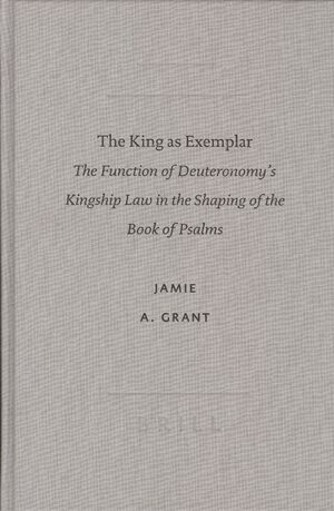 Cover The King as Exemplar