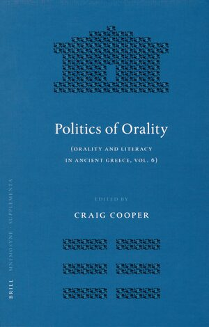 Cover Politics of Orality