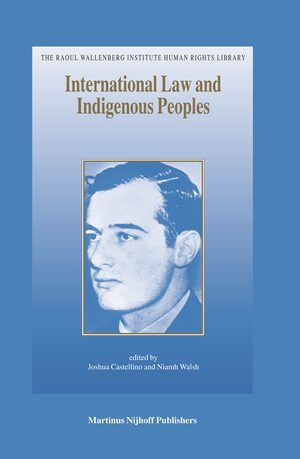 Cover International Law and Indigenous Peoples