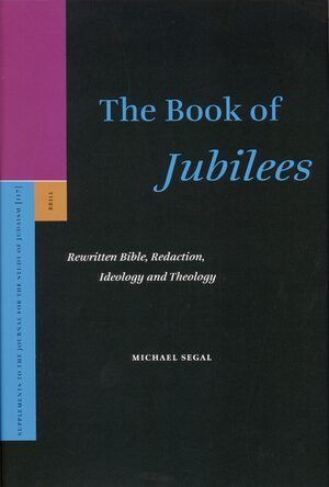Cover The Book of <i>Jubilees</i>