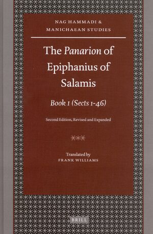 Cover The <i>Panarion</i> of Epiphanius of Salamis: Book I