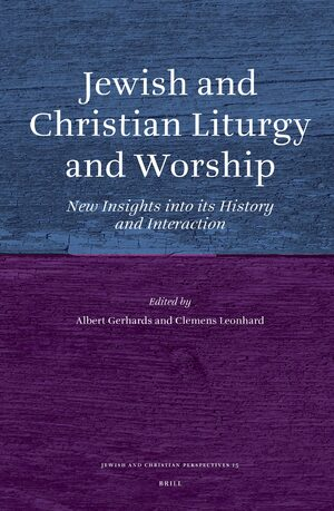 Cover Jewish and Christian Liturgy and Worship