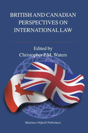 Cover British and Canadian Perspectives on International Law