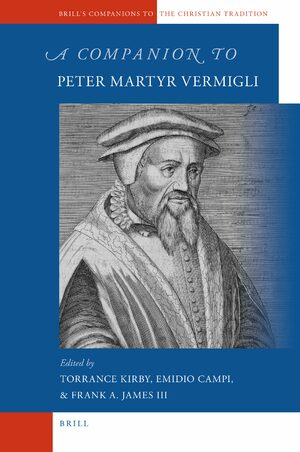 Cover A Companion to Peter Martyr Vermigli