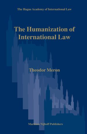 Cover The Humanization of International Law