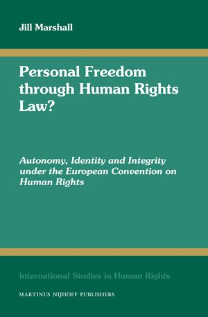Cover Personal Freedom through Human Rights Law?