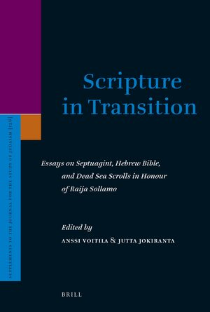 Cover Scripture in Transition