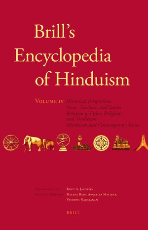 Cover Brill's Encyclopedia of Hinduism. Volume Four
