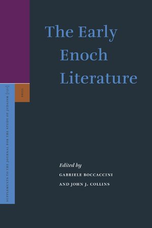 Cover The Early Enoch Literature
