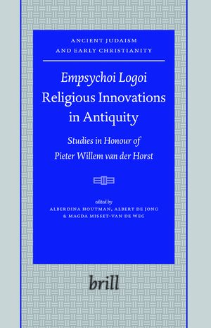 Cover <i>Empsychoi Logoi</i> — Religious Innovations in Antiquity