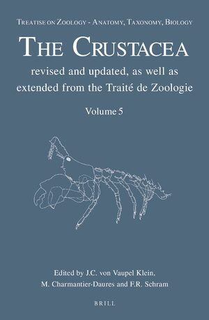 Cover Treatise on Zoology - Anatomy, Taxonomy, Biology. The Crustacea, Volume 5