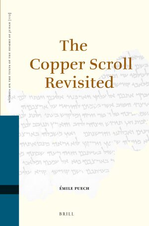 Cover The Copper Scroll Revisited