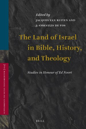 Cover The Land of Israel in Bible, History, and Theology