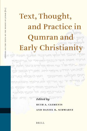 Cover Text, Thought, and Practice in Qumran and Early Christianity
