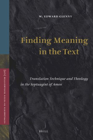 Cover Finding Meaning in the Text