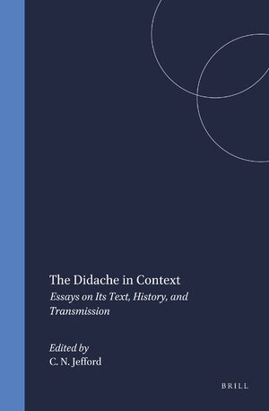 Cover The Didache in Context