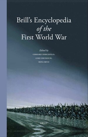 Cover Brill's Encyclopedia of the First World War (2 vol. set)