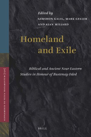 Cover Homeland and Exile