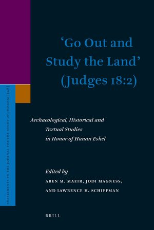 Cover 'Go Out and Study the Land' (Judges 18:2)