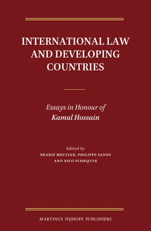 Cover International Law and Developing Countries