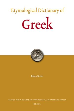 Cover Etymological Dictionary of Greek (2 vols.)