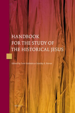 Cover Handbook for the Study of the Historical Jesus (4 vols)