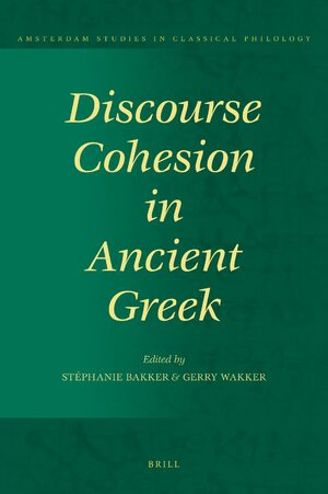 Cover Discourse Cohesion in Ancient Greek
