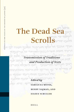 Cover The Dead Sea Scrolls