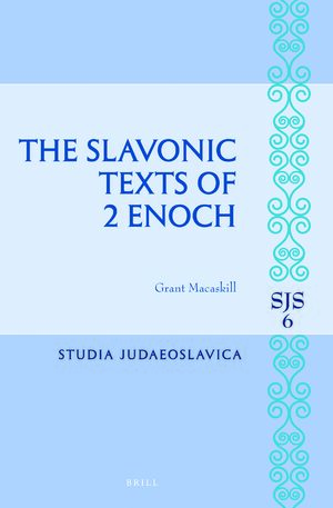 Cover The Slavonic Texts of 2 Enoch