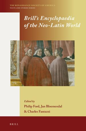 Cover Brill's Encyclopaedia of the Neo-Latin World (2 vols.)
