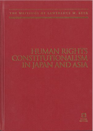 Cover Human Rights Constitutionalism in Japan and Asia