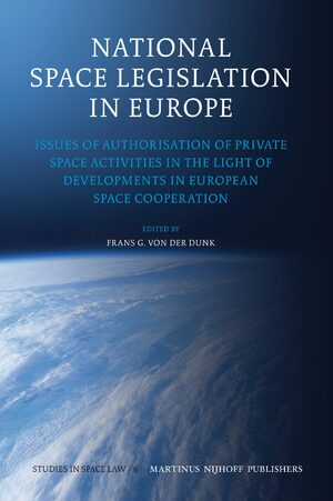 Cover National Space Legislation in Europe