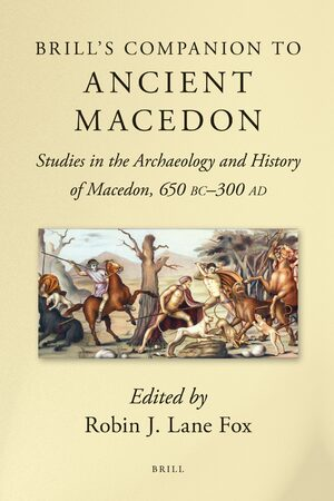Cover Brill's Companion to Ancient Macedon