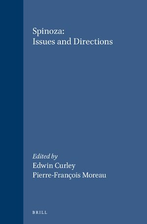 Cover Spinoza: Issues and Directions