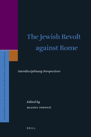 Cover The Jewish Revolt against Rome