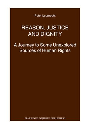 Cover Reason, Justice and Dignity