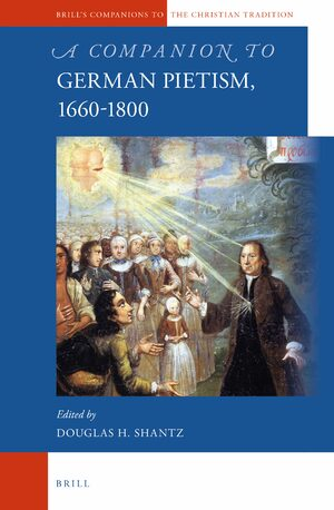 Cover A Companion to German Pietism, 1660-1800