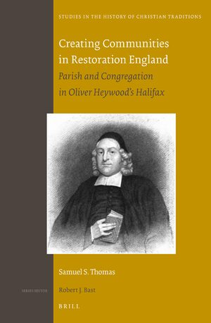 Cover Creating Communities in Restoration England