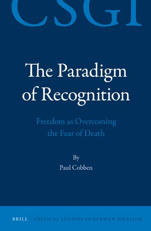 Cover The Paradigm of Recognition