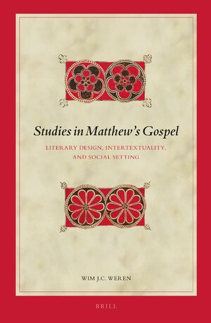 Cover Studies in Matthew's Gospel